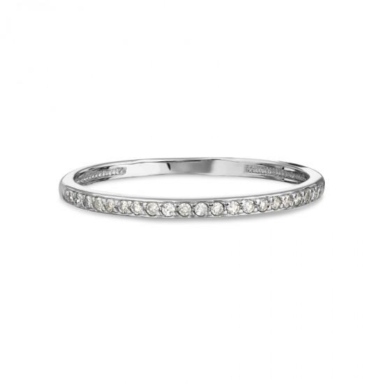 Auksinis žiedas su Deimantu