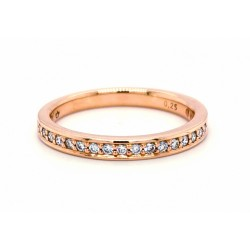 Auksinis žiedas su Deimantais